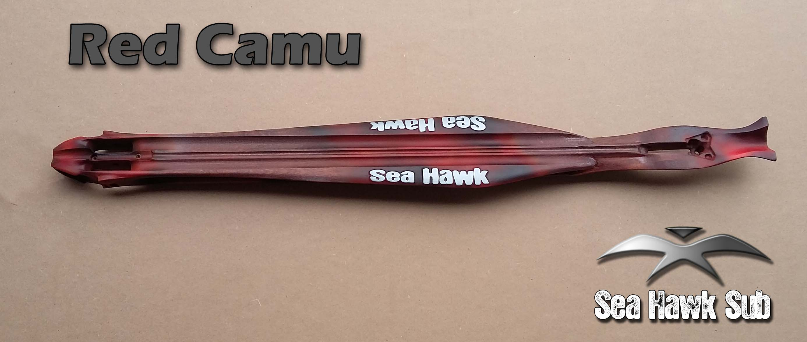 0 seahawksub Spearfishing pescasub rollergun speargun Red camu