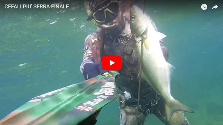 Mirko 00 (Cefali e serra) spearfishing speargun seahawksub